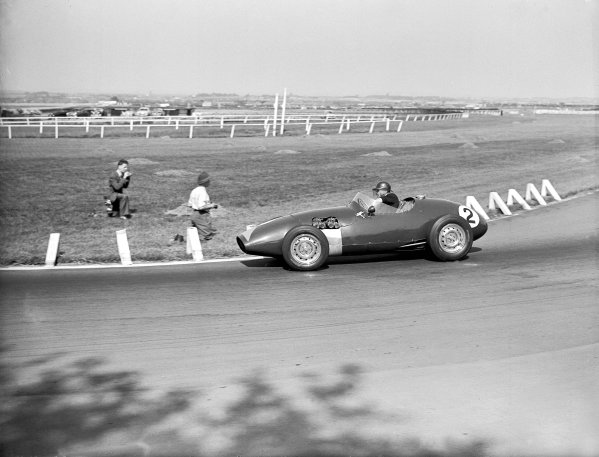Aintree, Great Britain. 24 June 1956.Formula 1 race.Archie Scott-Brown (Connaught B-type).Ref-Motor 773/47.World Copyright - LAT Photographic