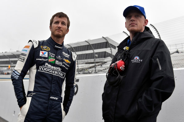 30 September-2 October, 2016, Dover, Delaware USA Kasey Kahne and Keith Rodden ? 2016, Nigel Kinrade LAT Photo USA
