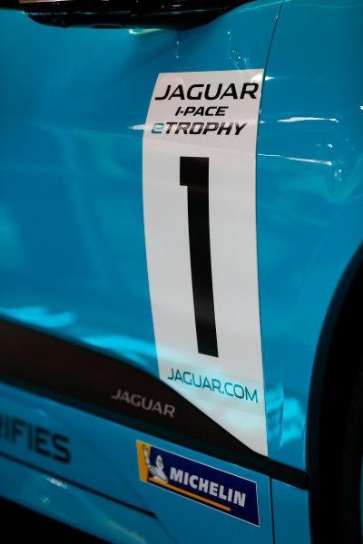 Autosport International Exhibition. National Exhibition Centre, Birmingham, UK. Thursday 11th January 2017. The Jaguar I-Pace Trophy.World Copyright: Glenn Dunbar/LAT Images Ref: _X4I4086