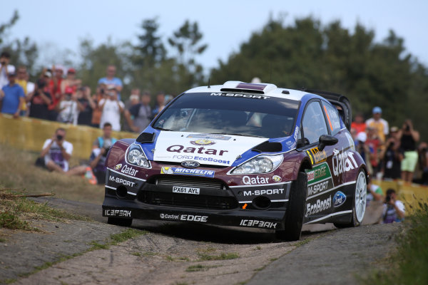 2013 FIA World Rally Championship Round 09-Rally Germany 21-25/8 2013. Nasser Al Attiyah, Ford, Action  Worldwide Copyright: McKlein/LAT