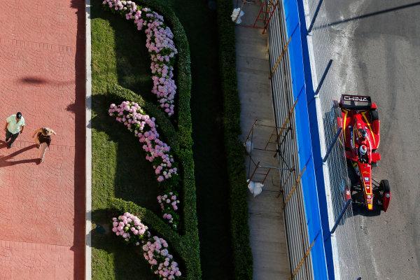 2014 FIA Formula E Championship. Punta del Este ePrix, Uruguay. Antonio Garcia (ESP)/China Racing - Spark-Renault SRT_01E. Photo: Zak Mauger/LAT/FE ref: Digital Image _L0U0337