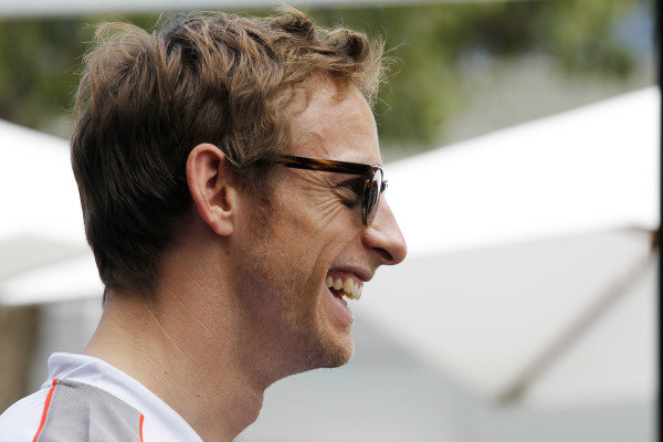 Albert Park, Melbourne, Australia15th March 2012.Jenson Button, McLaren. World Copyright:Steven Tee/LAT Photographicref: Digital Image _A8C0632