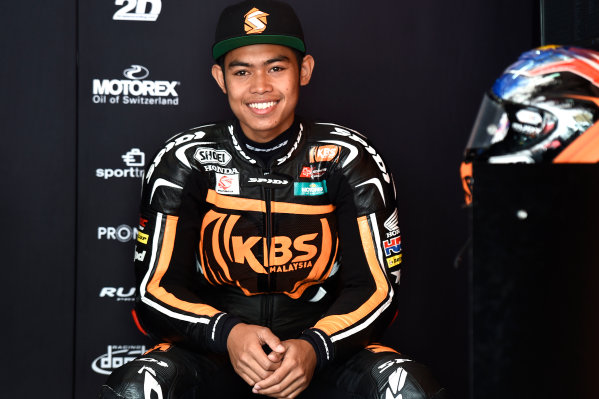 2017 Moto3 Championship - Round 17 Sepang, Malaysia. Friday 27 October 2017 Adam Norrodin, SIC Racing Team World Copyright: Gold and Goose / LAT Images ref: Digital Image 25021