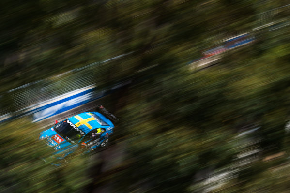 2015 V8 Supercars Round 14. Sydney 500, Sydney Olympic Park, Sydney, Australia. Friday 4th December - Sunday 6th December 2015. Scott McLaughlin drives the #33 Wilson Security Racing GRM Volvo. World Copyright: Daniel Kalisz/LAT Photographic  Ref: Digital Image V8SCR14_SYDNEY500_DKIMG0173.JPG