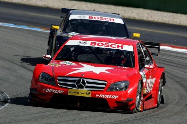 Gary Paffett (GBR) Stern AMG Mercedes  DTM, Rd 1, Hockenheim, Germany, 12-13 April 2008.