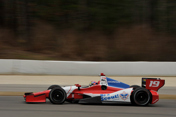 17-18 March 2014, Birmingham, Alabama USA Justin Wilson ©2014 Scott R LePage  LAT Photo USA