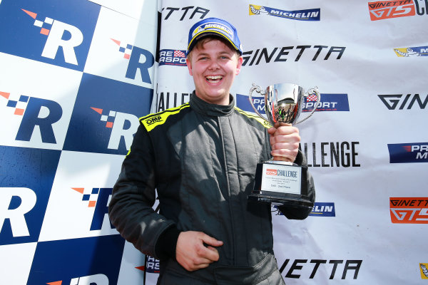 2017 Ginetta GT5 Championship Rockingham, England. 29th-30th April 2017, Ryan Hadfield Ginetta GT5 World copyright. JEP/LAT Images