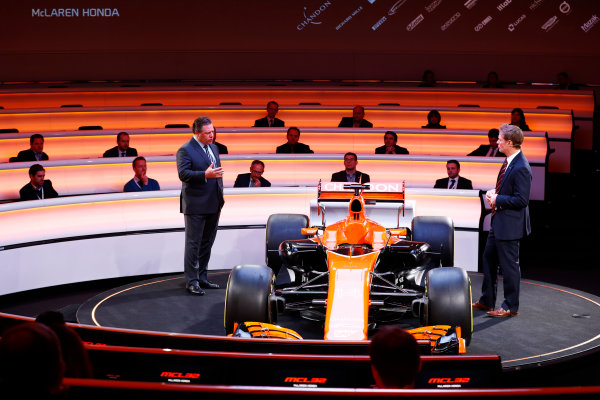 McLaren MCL32 Formula 1 Launch.