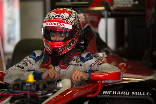 Circuit de Barcelona Catalunya, Barcelona, Spain. Wednesday 15 March 2017. Nobuharu Matsushita (JPN, ART Grand Prix). Photo: Alastair Staley/FIA Formula 2 ref: Digital Image 585A0208