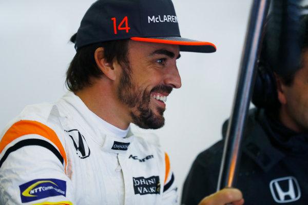 Shanghai International Circuit, Shanghai, China.  Friday 07 April 2017. Fernando Alonso, McLaren. World Copyright: Steven Tee/LAT Images ref: Digital Image _R3I2712