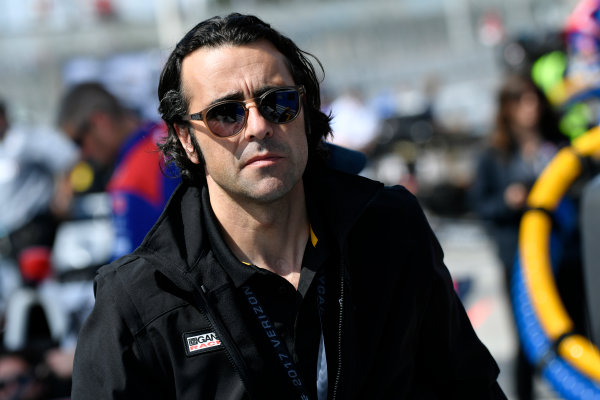 2017 Verizon IndyCar Series Toyota Grand Prix of Long Beach Streets of Long Beach, CA USA Friday 7 April 2017 Dario Franchitti World Copyright: Scott R LePage/LAT Images ref: Digital Image lepage-170407-LB-0421