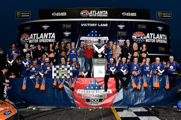 2017 Monster Energy NASCAR Cup Series - Fold of Honor QuikTrip 500 Atlanta Motor Speedway, Hampton, GA USA Sunday 5 March 2017 Brad Keselowski World Copyright: Rusty Jarrett/LAT Images ref: Digital Image 17ATL1rj_2858