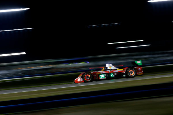 2017 Rolex 24 Hours. Daytona, Florida, USA Saturday 28 January 2017. #38 Performance Tech Motorsports ORECA FLM09: James French, Kyle Mason, Patricio O'Ward, Nicholas Boulle World Copyright: Alexander Trienitz/LAT Images ref: Digital Image 2017-24h-Daytona-AT1-3981