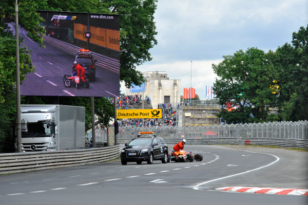 2014 FIA European F3 Championship Round 6 - Norisring, Germany. 27th - 29th June 2014 Roy Nissany (ISR) KFZTEILE24 M?CKE MOTORSPORT Dallara F312 Mercedes World Copyright: XPB Images / LAT Photographic  ref: Digital Image 3191186_HiRes
