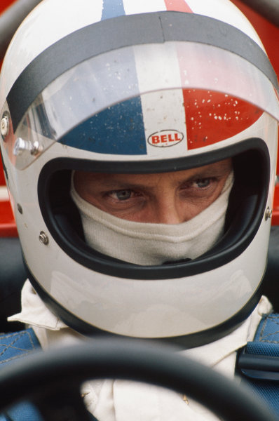 1973 British Grand Prix.  Silverstone, England. 12-14th July 1973.  Chris Amon, Tecno.  Ref: 73GB22. World Copyright: LAT Photographic