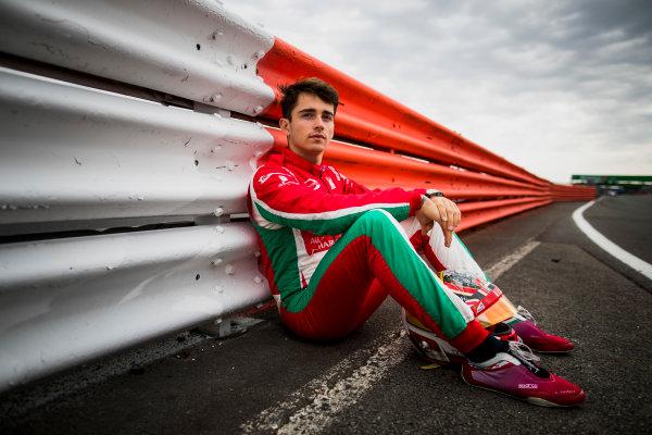 2017 FIA Formula 2 Round 6. Silverstone, Northamptonshire, UK. Thursday 13 July 2017. Charles Leclerc (MCO, PREMA Racing).  Photo: Zak Mauger/FIA Formula 2. ref: Digital Image _56I6345