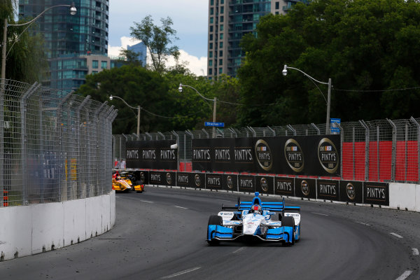 Verizon IndyCar Series Honda Indy Toronto Toronto, ON CAN Sunday 16 July 2017 Marco Andretti, Andretti Autosport with Yarrow Honda World Copyright: Phillip Abbott LAT Images ref: Digital Image abbott_toronto_0717_7011