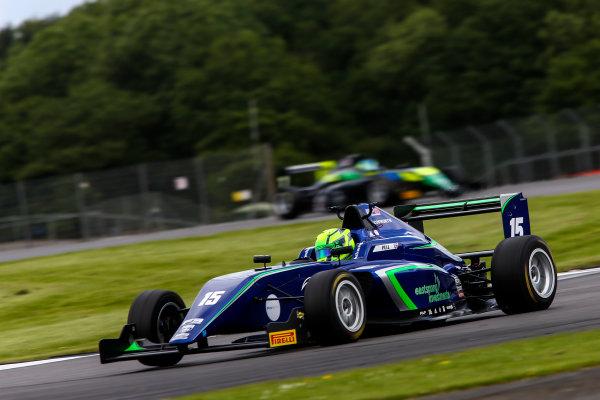 2017 BRDC British Formula 3 Championship,  Silverstone, 11th-12th June 2017, James Pull (GBR) Carlin BRDC F3. World copyright. JEP/LAT Images