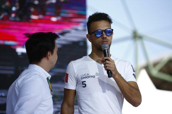 2017 FIA Formula 2 Round 7. Hungaroring, Budapest, Hungary. Saturday 29 July 2017. Luca Ghiotto (ITA, RUSSIAN TIME).  Photo: Andy Hone/FIA Formula 2. ref: Digital Image _ONY0678