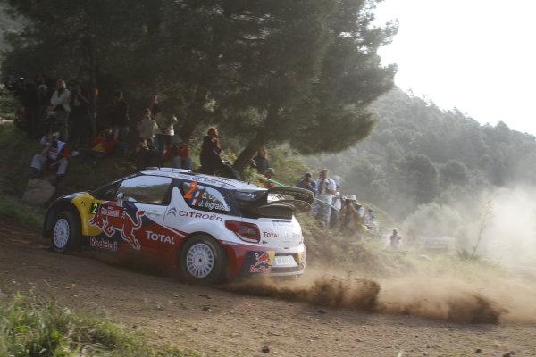 Round 05-Rally Italia Sardegna. 05th-08th May 2011.Sebastien Ogier, Citroen WRC, Action.Worldwide Copyright: McKlein/LAT