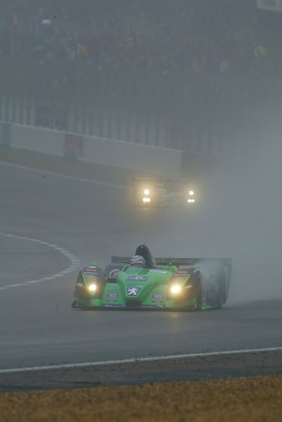 2003 Le Mans 1000kmLe Mans, France. 8th - 9th October 2003.Second place overall for Pescarolo Courage C60.World Copyright: John Brooks/LAT Photographicref: Digital Image Only