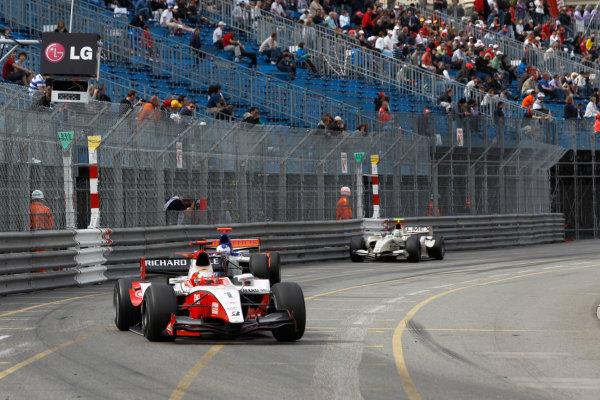 Monte Carlo, Monaco. 15th May 2010. Saturday Race.Jules Bianchi (FRA, ART Grand Prix). Action. Photo: Andrew Ferraro/GP2 Media Service.Ref: _Q0C7532 jpg