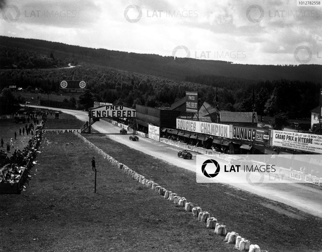 1931 Belgian Grand Prix. 
