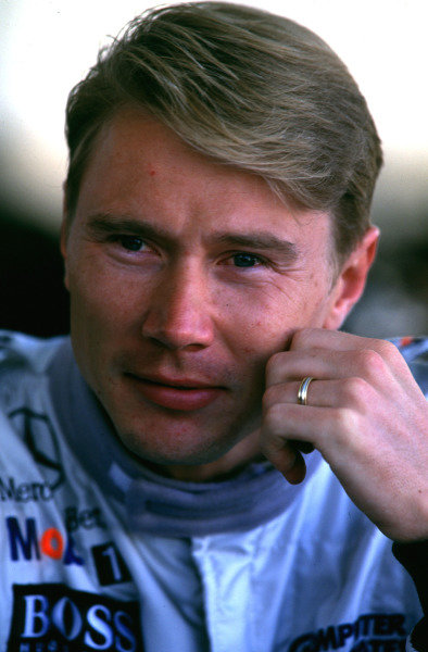 1998 French Grand Prix.Magny-Cours, Nevers, France.26-28 June 1998.Mika Hakkinen (McLaren Mercedes-Benz).World Copyright - LAT Photographic
