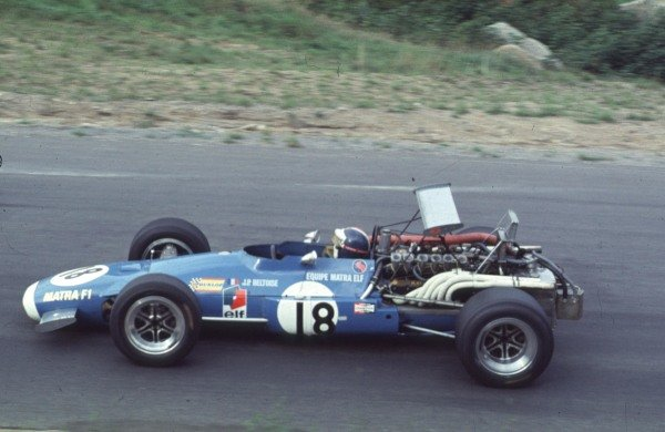 1968 Canadian Grand Prix.Mont-Tremblant, (St. Jovite), Quebec, Canada.20-22 September 1968.Jean-Pierre Beltoise (Matra MS11).Ref-68 CAN 31.World Copyright - LAT Photographic