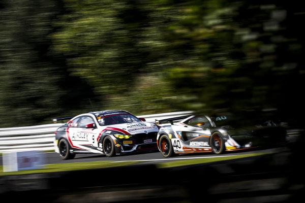 #40 Nick Halstead / Jamie Stanley - Fox Motorsport McLaren 570S GT4 and #9 Chris Salkeld / Andrew Gordon-Colebrooke - Century Motorsport BMW M4 GT4