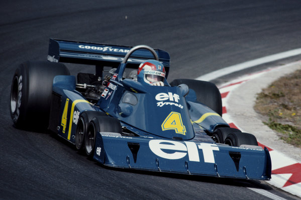 Patrick Depailler, Tyrrell P34 Ford, during practice.