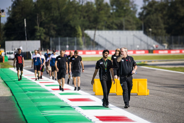 AUTODROMO NAZIONALE MONZA, ITALY - SEPTEMBER 05: Mahaveer Raghunathan (IND, MP MOTORSPORT) during the Monza at Autodromo Nazionale Monza on September 05, 2019 in Autodromo Nazionale Monza, Italy. (Photo by Sam Bloxham / LAT Images / FIA F2 Championship)