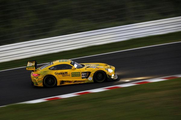 #999 Mercedes-AMG Team GruppeM Racing Mercedes-AMG GT3: Maximilian Buhk, Raffaele Marciello, Maro Engel.