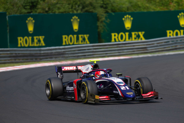 HUNGARORING, HUNGARY - AUGUST 03: Ralph Boschung (CHE, TRIDENT) during the Hungaroring at Hungaroring on August 03, 2019 in Hungaroring, Hungary. (Photo by Joe Portlock / LAT Images / FIA F2 Championship)