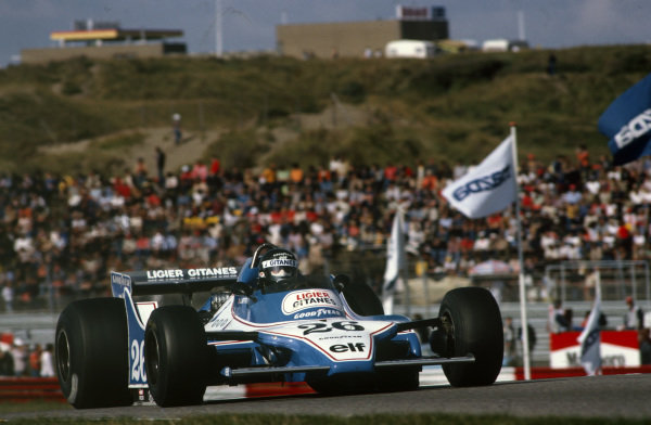 Jacques Laffite, Ligier JS11 Ford.