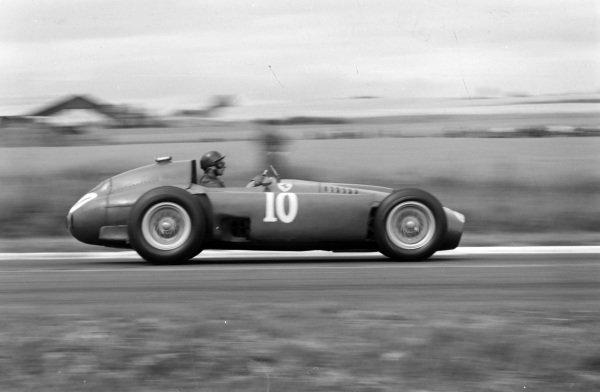 Juan Manuel Fangio, Ferrari D50.