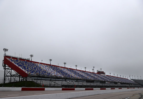A general view of empty  stands without fans, Copyright: Chris Graythen/Getty Images.
