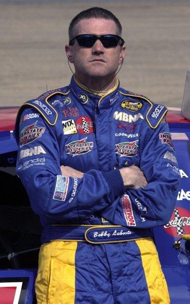 03/26/04 NASCAR Nextel Cup Series.Round 6 of 36. Food City 500. Bobby Labonte. Bristol, Tennessee, USA.