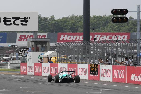 Motegi, Japan. 3rd - 4th August 2013. Rd 5. Race 2 - Winner  Yuichi Nakayama ( #36 PETRONAS TEAM TOM'S ) action. World Copyright: Yasushi Ishihara/LAT Photographic. Ref: 2013JF3_Rd11_005