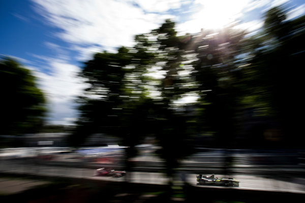 2014/2015 FIA Formula E Championship. Moscow ePrix, Moscow, Russia. Saturday 6 June 2015 Antonio Garcia (SPA)/China Racing - Spark-Renault SRT_01E. Photo: Zak Mauger/LAT/Formula E ref: Digital Image _L0U0701