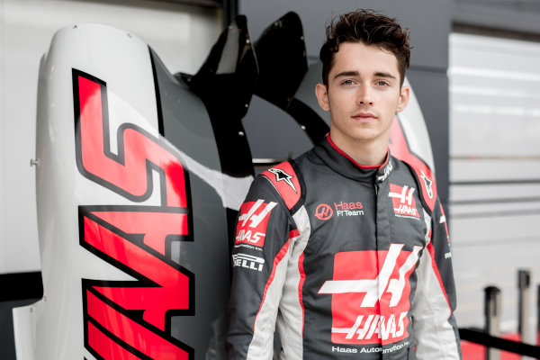 Silverstone, Northamptonshire, UK Thursday 7 July 2016 Charles Leclerc, Haas F1 Team. World Copyright: Andrew Hone/LAT Images  ref: Digital Image _ONZ7993