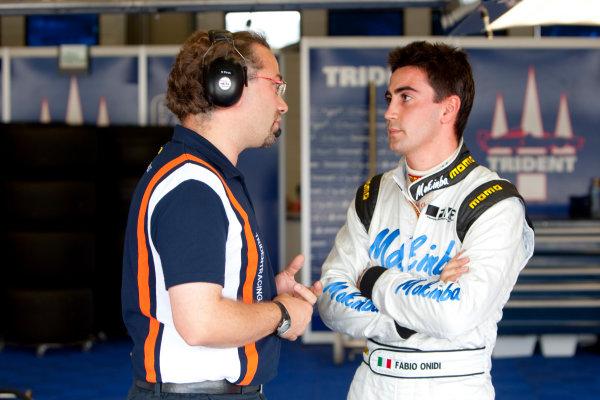 Jerez, Spain. Thursday 8th October. Fabio Onidi (ITA, Trident Racing). Portrait.  World Copyright: Alastair Staley/ GP2 Series Media Service.Ref: _O9T7203 jpg