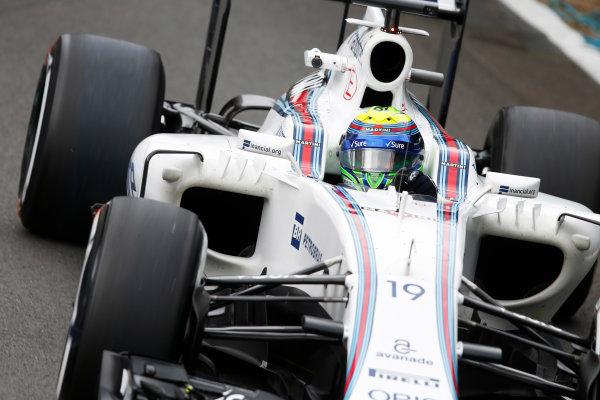 Silverstone, Northamptonshire, UK Friday 08 July 2016. Felipe Massa, Williams FW38 Mercedes.  World Copyright: Steven Tee/LAT Photographic ref: Digital Image _X0W4840