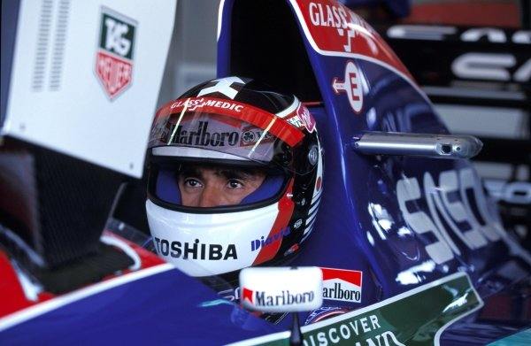 Aguri Suzuki (JPN) Jordan J194 Hart.