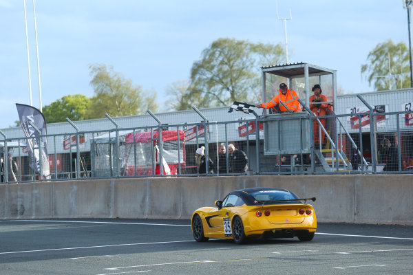 2017 Ginetta Racing Drivers Club + Oulton Park, Cheshire. 15th April 2017. Rob Keogh Ginetta G40. World Copyright: JEP/LAT Images.