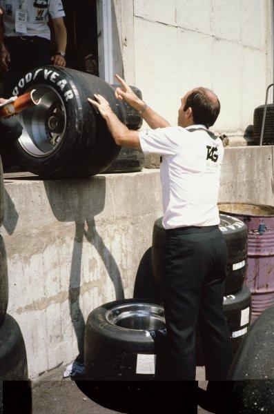 1982 British Grand Prix.Brands Hatch, Great Britain. 18 July 1982.xxxWorld Copyright: LAT PhotographicRef: 35mm transparency 82GBR