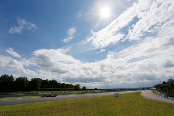 FIA Formula E Test Day, Donington Park, UK.  3rd - 4th July 2014.  Bruno Senna, Mahindra Racing. Photo: Zak Mauger/FIA Formula E ref: Digital Image _L0U5182