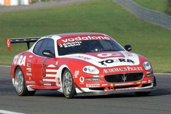 2005 Trofeo Maserati Championship,Nurburgring, Germany. 4th September, 2005,Schmitz/Babini,World Copyright: Jakob Ebrey/LAT Photographic.