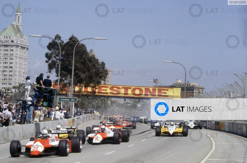 1982 United States Grand Prix West.