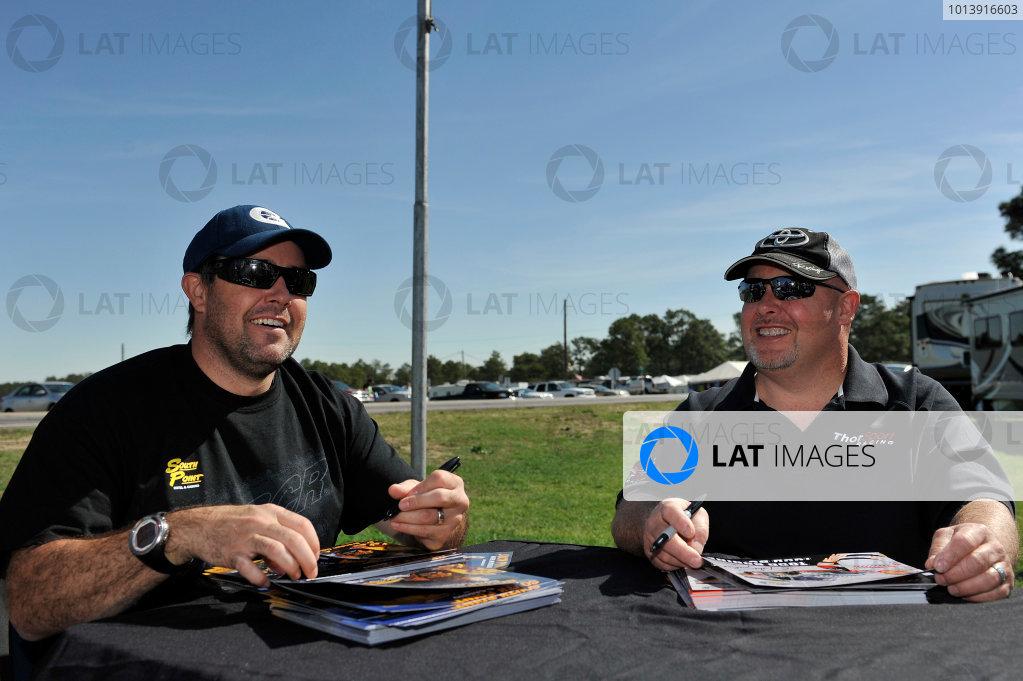 13-14 April, 2013, Rockingham, North Carolina USA Brendan Gaughan, Todd Bodine ©2013, Scott R LePage LAT Photo USA